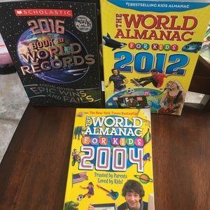 3 World Records books for kids